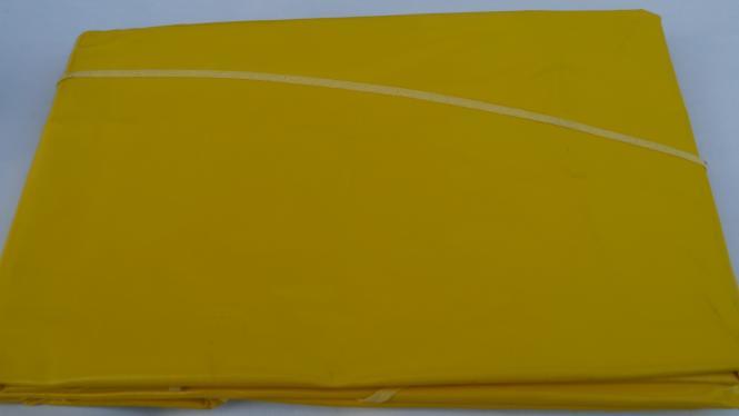 Ovale Lacktischdecke Tischbelag 160/210 cm-Farbe Gelb-Wachstuch 1 B-Ware